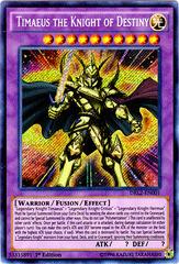 Timaeus the Knight of Destiny - DRL2-EN001 - Secret Rare - 1st Edition