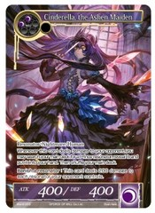 Cinderella, The Ashen Maiden (Full Art) - WORLD-003 - PR