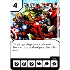 Call Them Out! - Basic Action Card (Die & Card Combo)