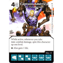 Captain America - The First Avenger (Die & Card Combo)