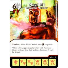 Magneto - Magnetic Monster (Die & Card Combo)