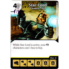 Star-Lord - Element Gun (Die & Card Combo)