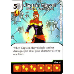 Captain Marvel - Human / Kree Hybrid (Card Only)