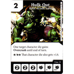 Hulk Out - Basic Action Card (Card Only)