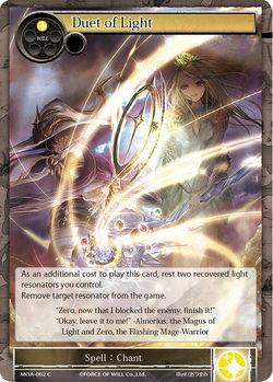 Duet of Light - MOA-002 - C