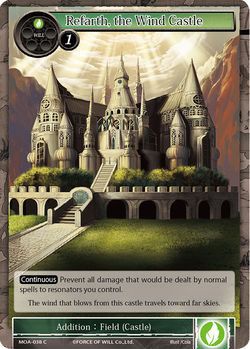 Refarth, the Wind Castle - MOA-038 - C