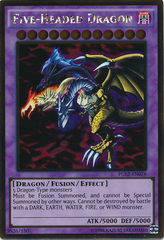 Five-Headed Dragon - PGL2-EN078 - Gold Rare - Unlimited Edition