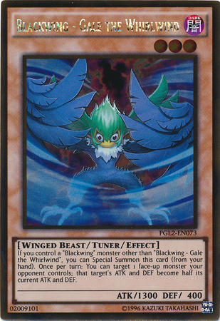 Blackwing - Gale the Whirlwind - PGL2-EN073 - Gold Rare - Unlimited Edition