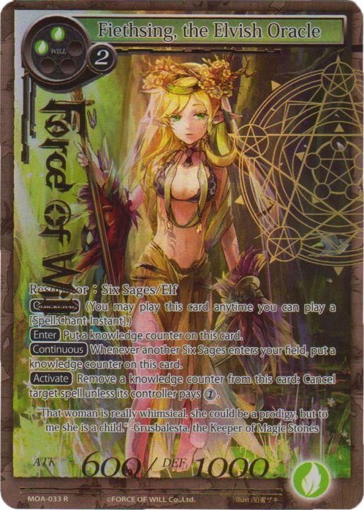 Fiethsing, the Elvish Oracle - MOA-033 - R - Full Art