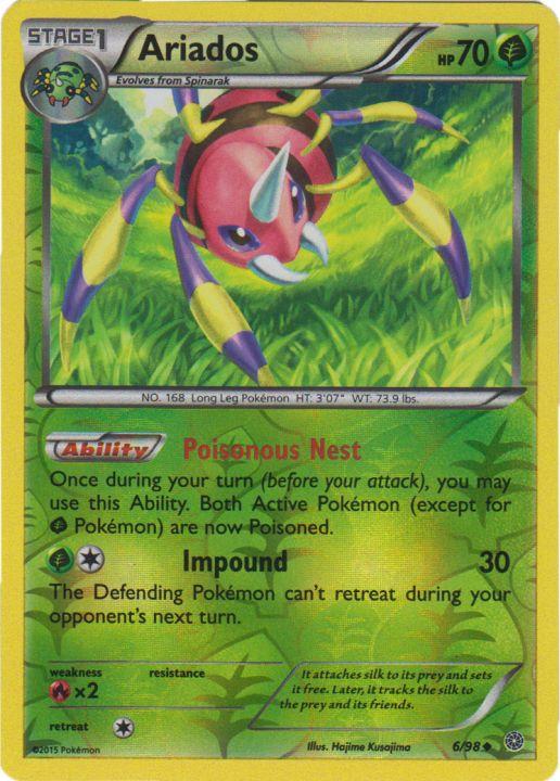 Quagsire 39//98 Ancient Origins Reverse Holo Mint Pokemon Card