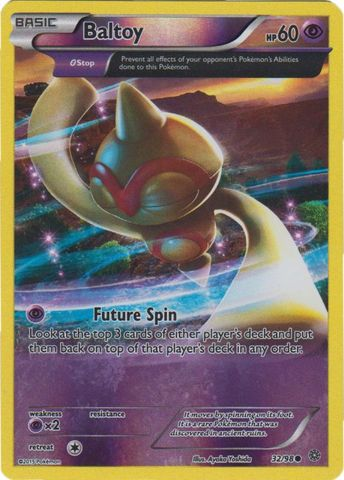 Baltoy - 32/98 - Common - Reverse Holo