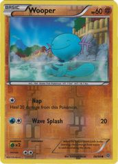 Wooper - 38/98 - Common - Reverse Holo