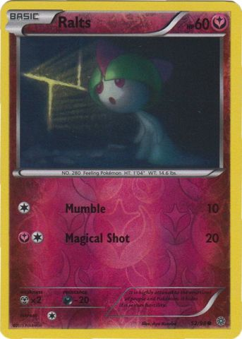Ralts - 52/98 - Common - Reverse Holo