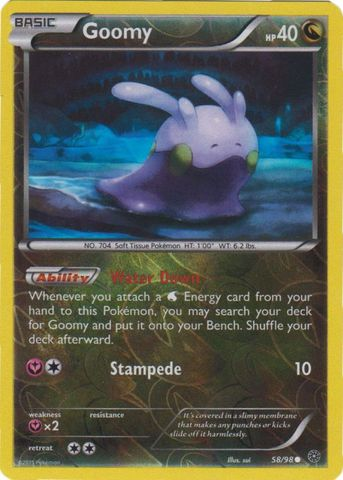 Goomy - 58/98 - Common - Reverse Holo