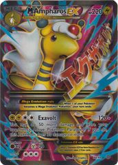 M Ampharos EX - 88/98 - Full Art