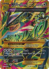 M Rayquaza EX - 98/98 - Full Art