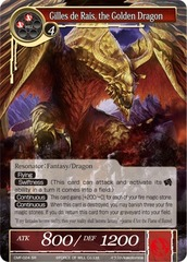 Gilles de Rais, the Golden Dragon - CMF-024 - SR