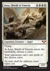 Iona, Shield of Emeria - Foil on Channel Fireball