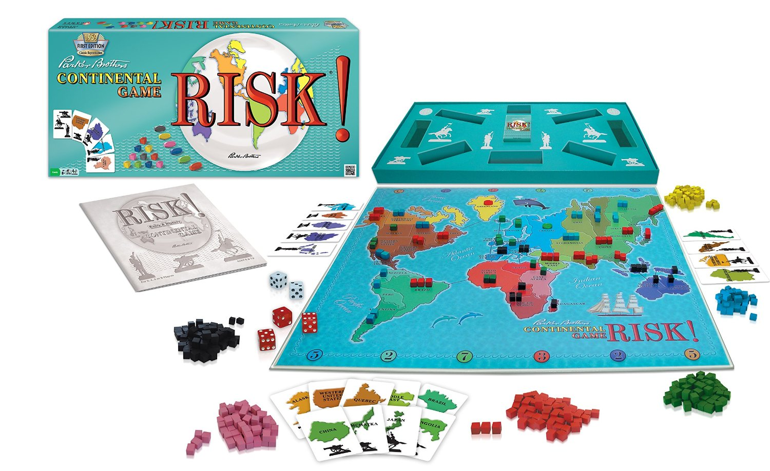 Risk! 1959 Reproduction