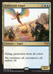 Iridescent Angel - Foil on Channel Fireball
