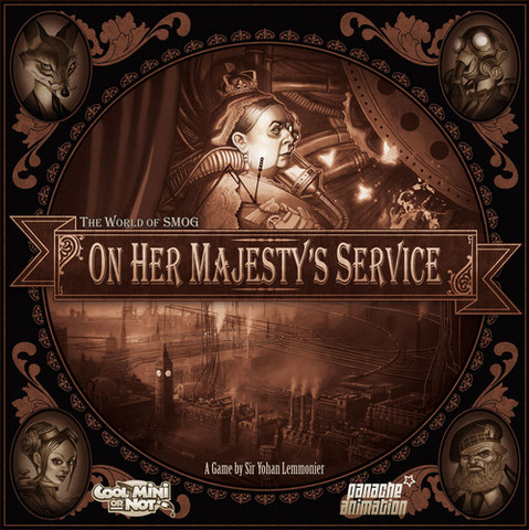 The World of SMOG: On Her Majestys Service