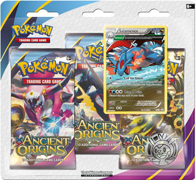 XY - Ancient Origins Salamence Blister Pack