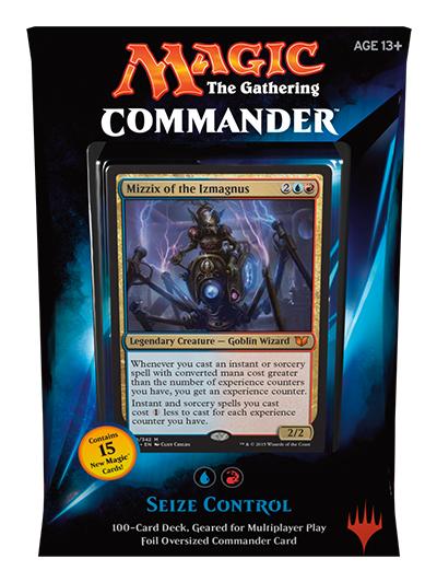 MTG Commander 2015: Seize Control Deck (Blue/Red)