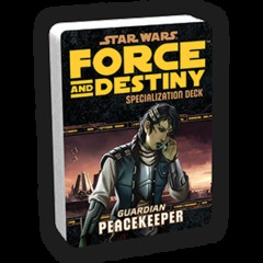Star Wars: Force & Destiny: Peacekeeper Specialization Deck