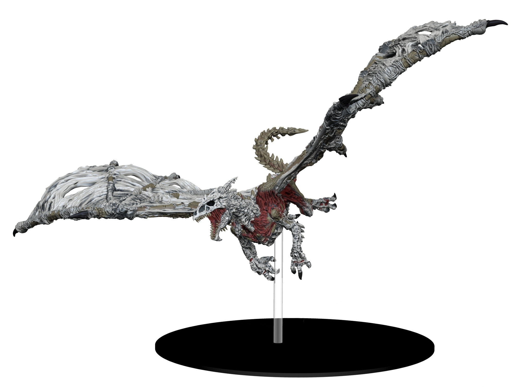 White Dracolich - Case Incentive Promotional Figure