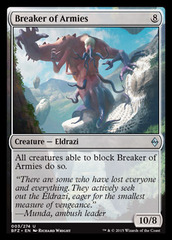 Breaker of Armies - Foil