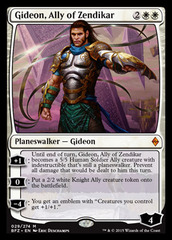 Gideon, Ally of Zendikar - Foil