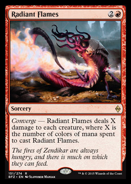 Radiant Flames - Foil