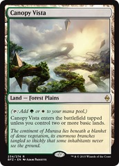 Canopy Vista on Channel Fireball