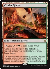 Cinder Glade - Foil on Channel Fireball