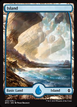 Island (255) (Full Art)