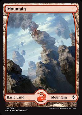 Mountain (269) (Full Art)