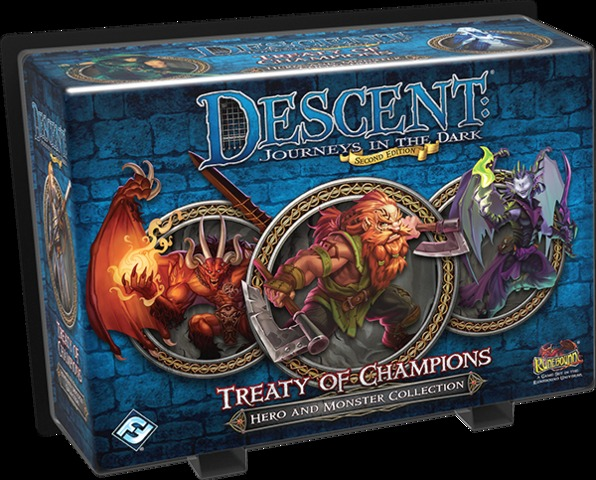 Descent - Treaty of Champions - 2nd Edition