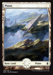Plains (254) - (Full Art) - Foil