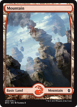 Mountain (269) - Foil - Full Art