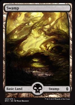 Swamp (260) - Foil (Full Art)