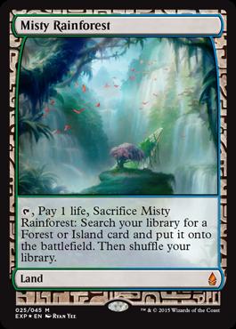 Misty Rainforest (Masterpiece Foil)