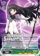 A Lonely Fight Homura - MM/W35-E028 - R