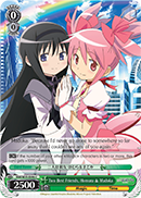 Two Best Friends, Homura & Madoka - MM/W35-E046 - C
