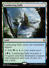 Lumbering Falls on Channel Fireball