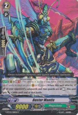 Buster Mantis - G-BT04/088EN - C