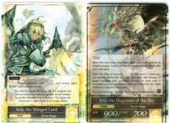 Arla, the Winged Lord // Arla, the Hegemon of the Sky - SKL-001 // SKL-001J - R - 1st Edition (Foil)