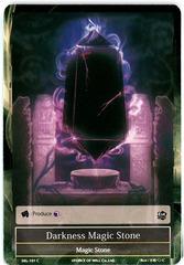 Darkness Magic Stone - SKL-101 - C - 1st Edition
