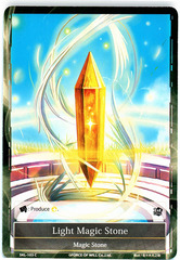 Light Magic Stone - SKL-103 - C - 1st Edition