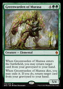 Greenwarden of Murasa - Foil