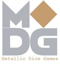 35mm Mega Metal D20 - Gold